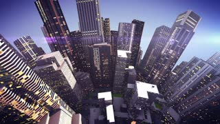 city globe concept
