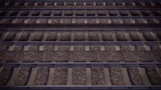 Looping Train Track Journey.