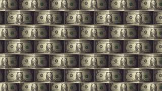 One dollar bill pattern