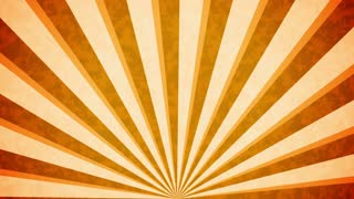 Orange Sun burst retro background design