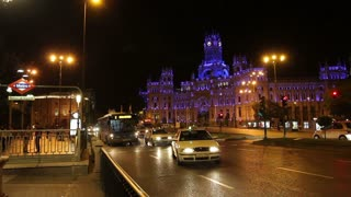 Plaza de la Cibeles - Central Post Office, Madrid, Spain.