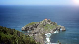 The San Juan de Gaztelugatxe. Basque Country, Spain.