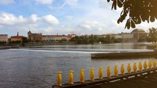 The view of Prague. The Czech Republic