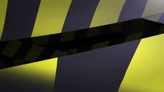 Under construction Yellow and Black Caution tape.  Loopable. Matte included.