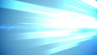 Abstract blue lights business technology background. Loopable.
