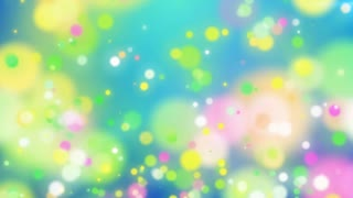 Abstract Colorful Holiday particles background. Blurred abstract motion backdrop with spots move up.