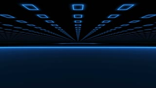 Abstract rectangles motion technology digital hi tech concept background
