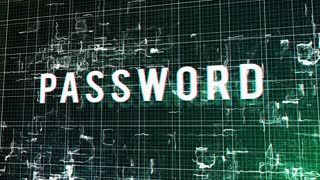 Entering Password with a Successful Access Result on Modern technology background. Internet Technology Safety Concept.