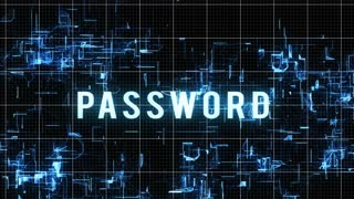 Entering Password with Access Denied Result on Modern technology background. Internet Technology Safety Concept.