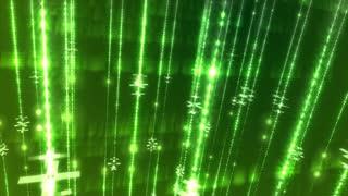 Speed bright laser green modern bandwidth - light streak background. Loopable animation.
