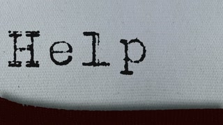 Typewriter prints the Job words concepts - Jobless, Unemployed, Help Wanted, Resume, Report, Blog. Extremely Closeup.