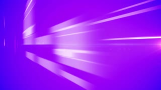 Violet abstract background with shiny moving bars and loop.