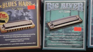 Blues harmonica pan