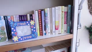 Children's books at thrift store