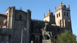 Church Porto, Portugal early morning
