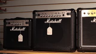 Pan marshall miniature guitar amplifiers