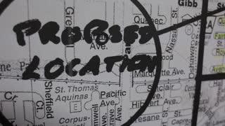 Proposed location building blueprints