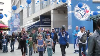 Rogers Centre blue jays game people