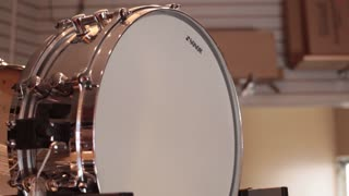 Snare drum on display