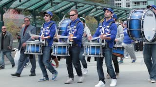 Toronto blue jays marching band rogers centre