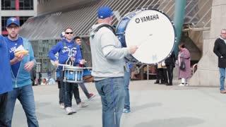 Toronto blue jays marching band