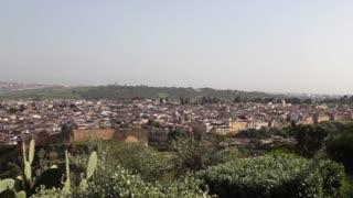 View of medina fes fez pan