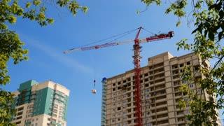 Construction of concrete buildings