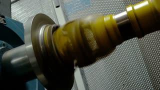 Diesel main engine of ropeway