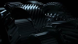 Gear system rotation
