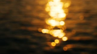 Sunset in the endless sea (loopable)