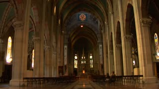 Interior view of Lissone Cathedral (Lissone Italy)
