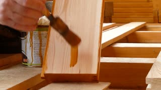 Ideal base stain for new wood
