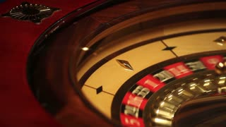 The casino roulette in an entertainment club...