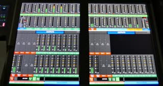Volume controler on an audio mixer...