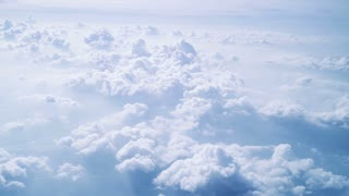 Aerial view of a cloudscape
