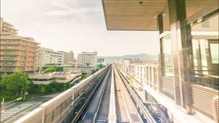POV time-lapse ride through Kobe, Japan