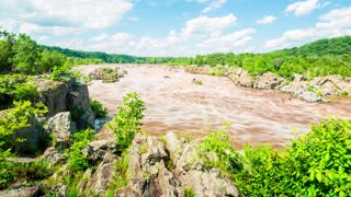 Time-lapse at Great Falls National park