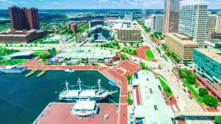 Time-lapse of Baltimore Inner Harbor