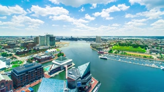 Time-lapse of Baltimore Inner Harbor