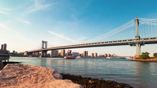 Time-lapse of the Manhattan Bridge