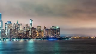 Time-lapse of the Manhattan skyline