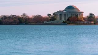Time lapse of the Thomas Jefferson Memorial 4K