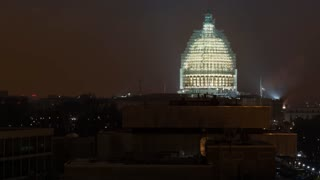 Time lapse of the United States Capitol building