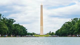 Time-lapse of the Washington Monument