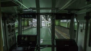 Time-lapse Trip on the Hanging Monorail of Chiba, Japan