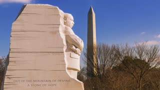 Timelapse of the Martin Luther King, Jr. Memorial (4K)