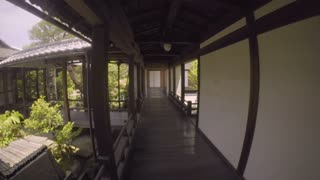 Point of View tour through a Japanese Temple in Kyoto