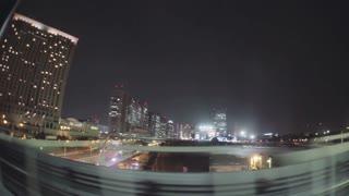 View of Odaiba, Tokyo via the Yurikamome