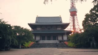 Zojoji Temple in Minato-ku, Tokyo, Japan