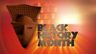 PCM Black History Month 1 African Mask with Titles